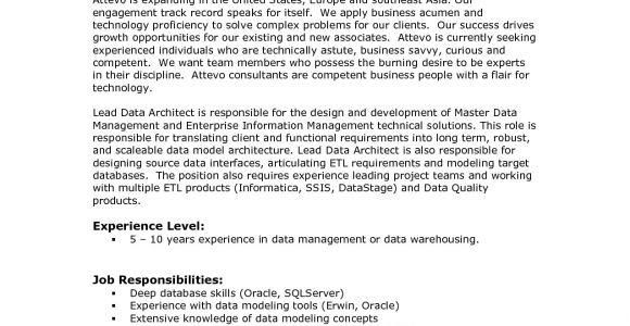 Talend Developer Sample Resume Talend Resume Resume Ideas