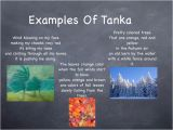 Tanka Poem Template Examples Of Tanka Poems