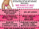 Tanning Flyer Templates Flyers for Tanning Salons Elite Flyers Blog