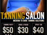Tanning Flyer Templates Tanning Salon Template Postermywall