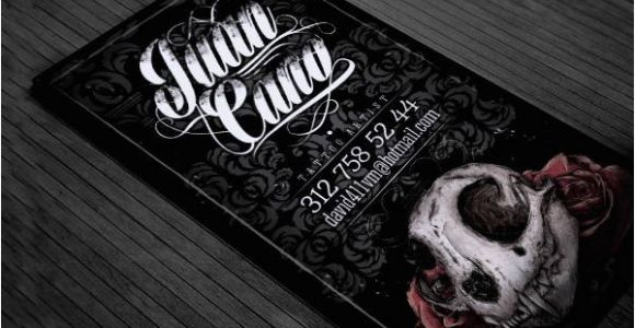 Tattoo Business Cards Templates Free 11 Tattoo Business Card Templates Free Premium Templates