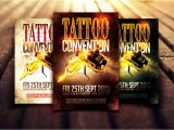 Tattoo Flyer Template Free Tattoo Convention Flyer Template by Dannygdesigns On