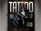 Tattoo Flyer Template Free Tattoo Festival Business Flyer Psd Template Psdmarket