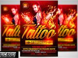 Tattoo Flyer Template Free Tattoo Party Flyer Template Flyer Templates Creative