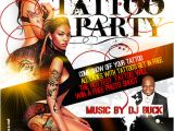 Tattoo Party Flyer Template Free Tattoo Party Flyer by Anotherbcreation On Deviantart