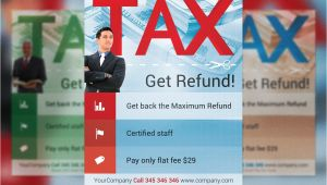 Tax Flyer Templates Free Tax Refund Flyer Template Flyer Templates Creative Market
