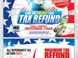 Tax Preparation Flyers Templates Tax Return Template by Psdflyers Graphicriver