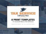 Tax Preparation Flyers Templates Tax Service Templates Pack Flyer Templates Creative Market