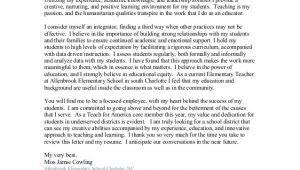Teach for America Cover Letter Cowling Cover Letter Resume Teaching 2016