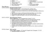 Teacher assistant Resume Sample Preschool assistant Teacher Resume Sample Livecareer