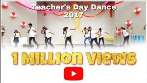 Teacher Day Ke Card Ki Jankari Teacher S Day Dance 2017 B S Memorial School Abu Road
