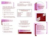 Teacher Interview Brochure Template 8 Best Images Of Teacher Brochures for Teacher Interviews