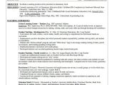 Teacher Resume Template Word Resume Template Word 10 Free Word Documents Download
