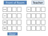 Teacher Seating Chart Template Classroom Seating Chart Template Doliquid
