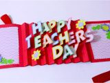 Teachers Day Card Banane Ka Tarika Diy Teacher S Day Card Handmade Teachers Day Card Making Idea 3d Pop Up Card Artsy Madhu 31