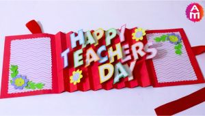 Teachers Day Card Banane Ka Tarika Invitation Card Create Custom Invitation Cards with