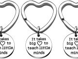 Teachers Day Card Edit Name Amazon Com Key Chain Rings Teacher Appreciation Gifts