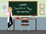 Teachers Day Card for Nursery Teacher S Day Background Download Free Vectors Clipart