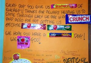 Teachers Day Card for Principal Happy Birthday to Our Favorite Teacher Awesome Candy