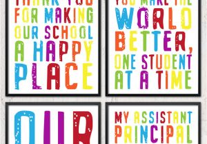 Teachers Day Card for Principal Six Printable School Staff and Principal Gifts I Should Be