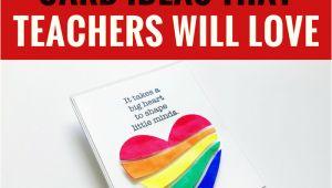 Teachers Day Card Front Page 5 Handmade Card Ideas that Teachers Will Love Diy Cards