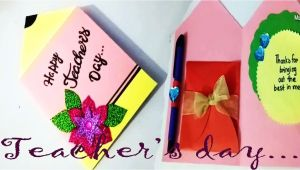 Teachers Day Card Handmade Easy Pin by Ainjlla Berry On Greeting Cards for Teachers Day