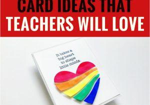 Teachers Day Card Handmade Ideas 5 Handmade Card Ideas that Teachers Will Love Diy Cards