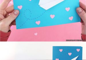 Teachers Day Card Handmade Ideas Easy Paper Airplane Valentine S Day Cards Airplane Cards