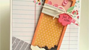 Teachers Day Card Handmade Ideas Pencil Shaker with Images Teacher Cards Teacher