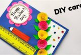 Teachers Day Card Ideas Simple Diy Teacher S Day Card Handmade Teacher S Day Card Easy