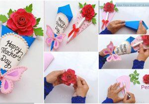 Teachers Day Card Ideas Simple How to Make Teacher S Day Card Simple Craft Ideas