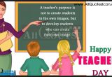Teachers Day Card In Hindi 33 Teacher Day Messages to Honor Our Teachers From Students