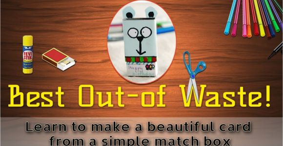 Teachers Day Card Kaise Banaya Jata Hai How to Make A Greeting Card From Waste Material