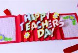 Teachers Day Card Kaise Banaye Diy Teacher S Day Card Handmade Teachers Day Card Making Idea 3d Pop Up Card Artsy Madhu 31