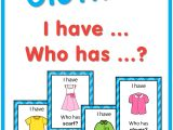 Teachers Day Card Lines In English Esl Clothes I Have who Has Game Mit Bildern Schule