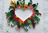 Teachers Day Card Paper Quilling Quilling Friendship Day Gift original Love Heart Couple