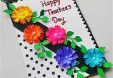 Teachers Day Card Step by Step Teachersdaysong Teachersday Teachersdaycard Punekarsneha