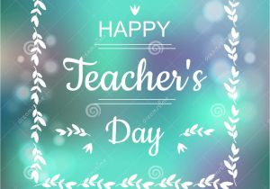 Teachers Day Card Vector Free Download Greeting Card for Happy Teachers Day Abstract Background