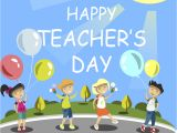 Teachers Day Card Vector Free Download Happy Teachers Day