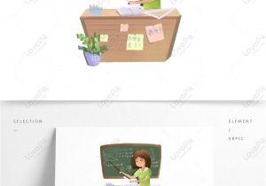 Teachers Day Card Vector Free Download Math Teacher Cartoon Vector Teacher Day Element Ai Images