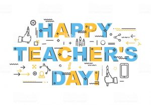 Teachers Day Card Vector Free Download Teachers Day Holidays Card Template for Design Website