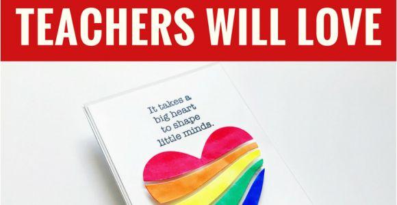 Teachers Day Craft Card Ideas 5 Handmade Card Ideas that Teachers Will Love Diy Cards