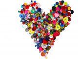 Teachers Day Heart Shape Card Unbekannt Creativity Papers Knopfe 1000 G Gemischt