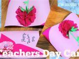 Teachers Day Invitation Card Handmade Diy Beautiful Teacher S Day Card In 2020 Teachers Day Card