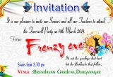 Teachers Day Invitation Card Sample Beautiful Surprise Party Invitation Template Accordingly