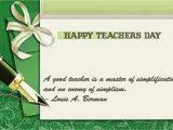 Teachers Day Invitation Card Writing Teachers Day Card Message
