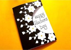 Teachers Day Ke Upar Card Beautiful Greeting Card for Teachers Day Handmade Teachers Day Card Idea Tutorial