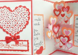 Teachers Day Pop Up Card Diy Pop Up Valentine Day Card How to Make Pop Up Card for