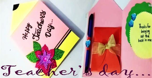 Teachers Day Pop Up Greeting Card Pin by Ainjlla Berry On Greeting Cards for Teachers Day