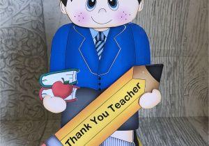 Teachers Day Thank You Card Pop Up Gift Card for Teachers 3d Handmade Card Greeting